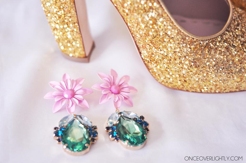 Miu Miu Glitter Curve Heels