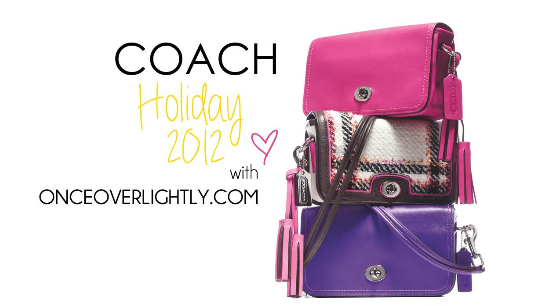 Coach Holiday 2012