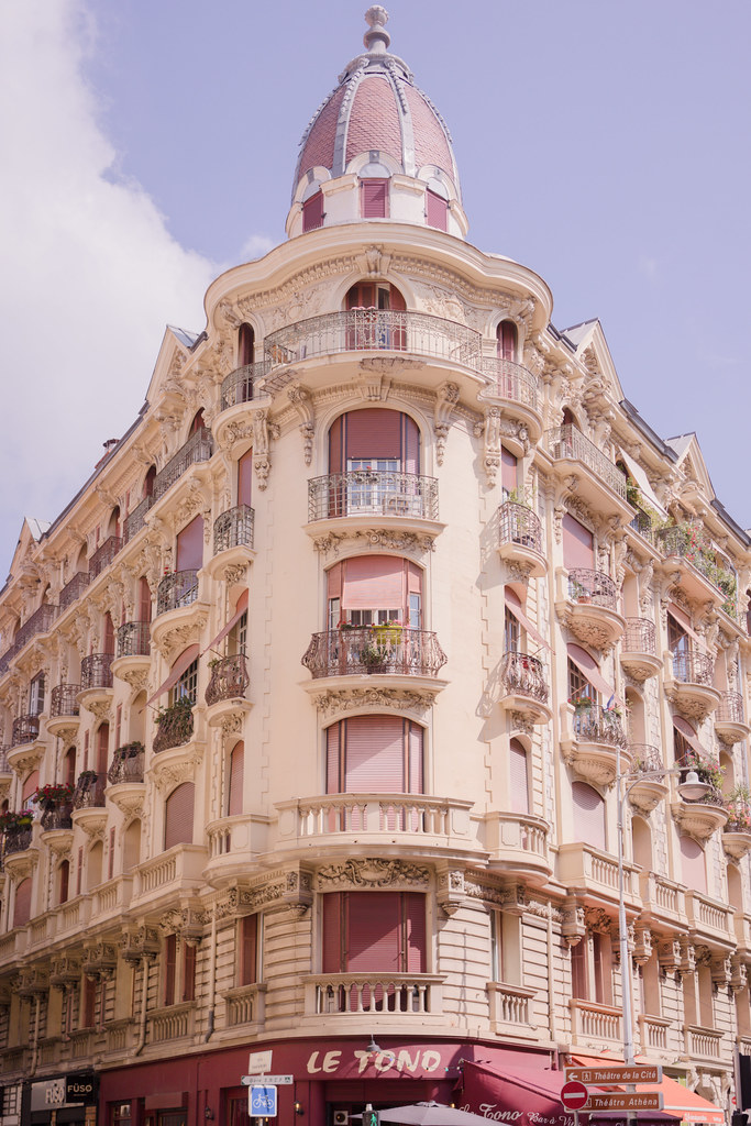 nice france arcitecture